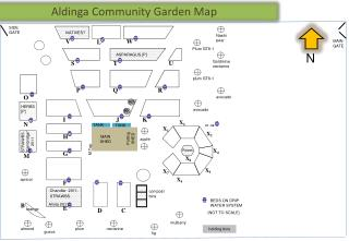 Aldinga Community Garden Map