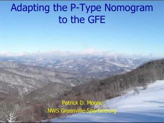 Adapting the P-Type Nomogram to the GFE
