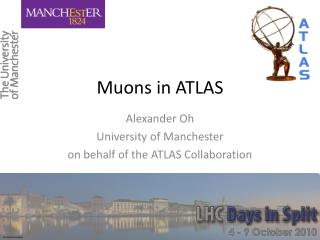 Muons in ATLAS