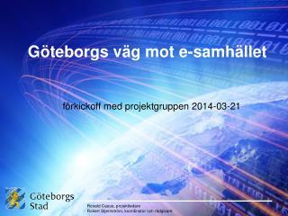Göteborgs väg mot e-samhället