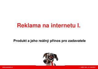 Reklama na internetu I.