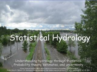 Statistical Hydrology