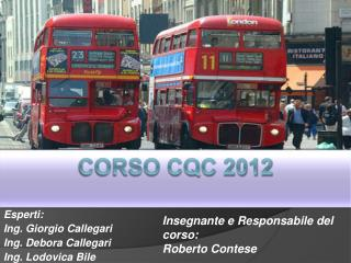 Corso CQC 2012