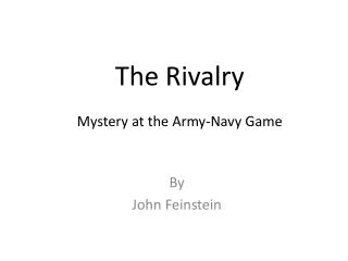The Rivalry Mystery at the Army-Navy Game