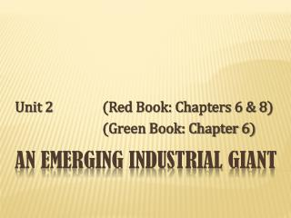 An Emerging industrial Giant