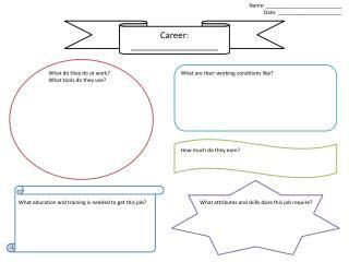 Career : ____________________