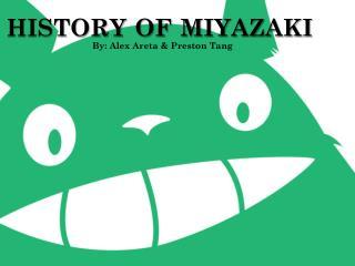 history of miyazaki