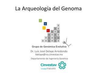 Grupo  de  Genómica Evolutiva