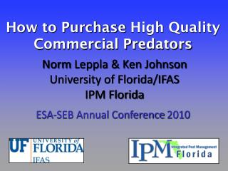 How to Purchase  High  Quality  Commercial Predators