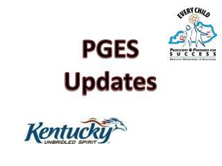 PGES Updates