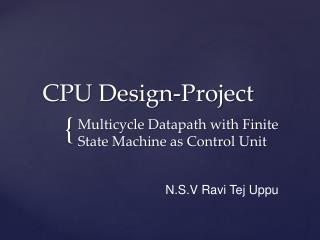 CPU Design-Project