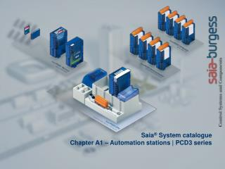 Saia ®  System  catalogue Chapter A1 – Automation stations | PCD3 series