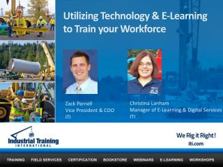 Utilizing Technology & E-Learning to Train your Workforce