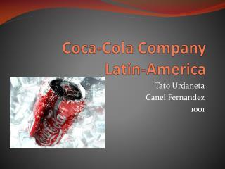 Coca-Cola  Company Latin -America