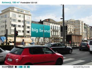 Antwerp, 180 m²   Frankrijklei 123-125