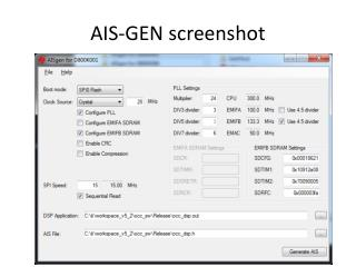 AIS-GEN screenshot