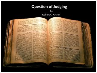Question of Judging