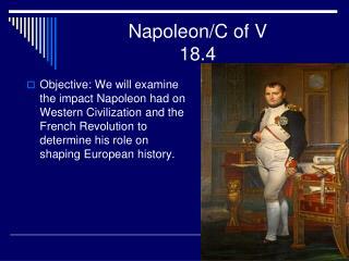 Napoleon/C of V 18.4