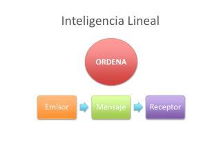 Inteligencia  Lineal