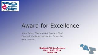 Award for Excellence