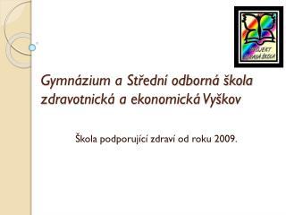 Gymnázium a Střední odborná škola zdravotnická a ekonomická Vyškov