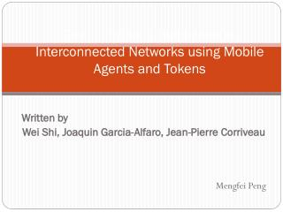 Searching for a Black Hole in Interconnected Networks using Mobile Agents and Tokens