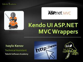 Kendo UI ASP.NET MVC Wrappers