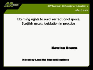 Land Reform Scotland Act 2003