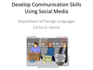Develop Communication Skills Using Social Media