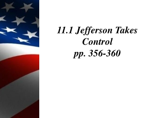 The Jeffersonian Revolution