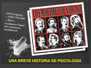 UNA BREVE HISTORIA DE PSICOLOGÍA