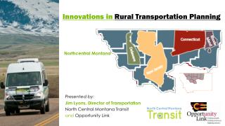 Innovations in  R ural Transportation Planning