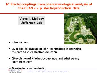 Victor I.  Mokeev Jefferson Lab