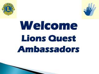 Lions  Quest  Ambassadors