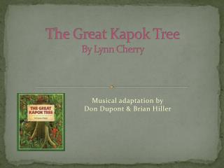 The Great Kapok Tree By Lynn Cherry