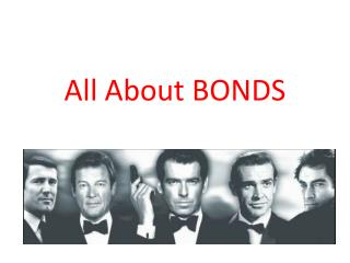 All About BONDS