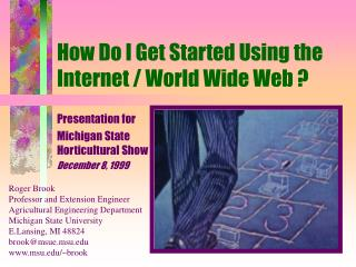 How Do I Get Started Using the Internet