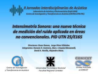 Centro de Investigación y Transferencia en Acústica