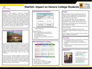 Starfish: Impact on Honors College Students