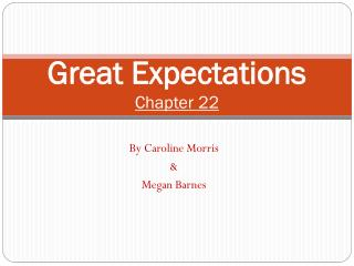 Great Expectations Chapter 22