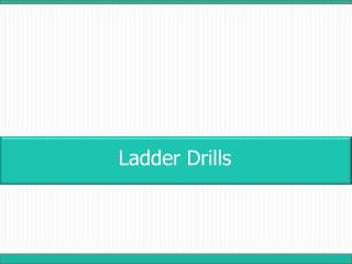 Ladder Drills
