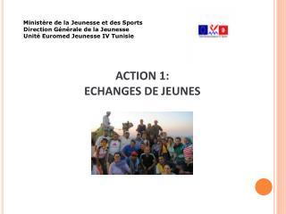 Ministère de la Jeunesse et des Sports         Direction Générale de la Jeunesse