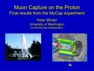 Muon Capture on the Proton Final  results from the MuCap experiment