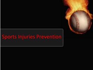 Sports Injuries Prevention