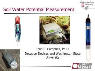 Soil Water Potential Measurement