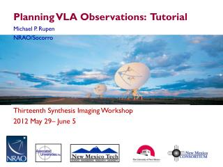 Planning VLA Observations:  Tutorial