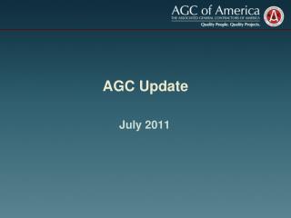 AGC Update