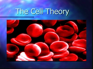 Emergence of the Cell Theory
