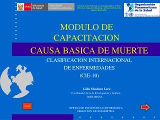 MODULO DE CAPACITACION
