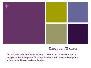 European Theater